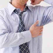 sudor axila hiperhidrosis