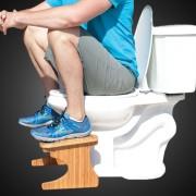 Postura adecuada fisiológicamente para defecar